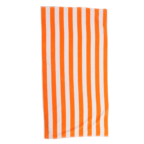 Resort Cabana Beach Towel - Orange