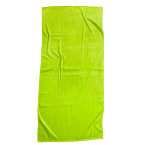 Lime Brazilian Solids Beach Towel