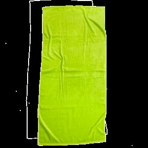Lime Brazilian Solids Beach Towel