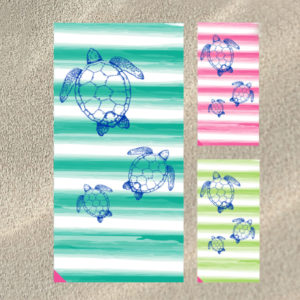 By The Case - Turtles Beach Towels